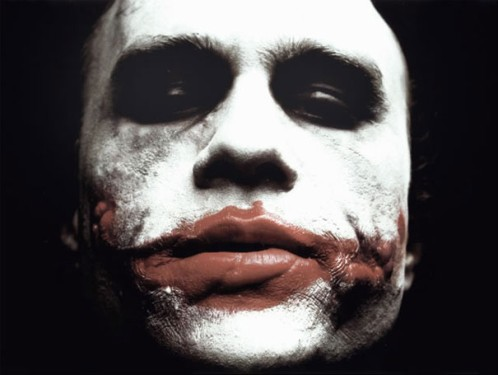 Heath Ledger como The Joker